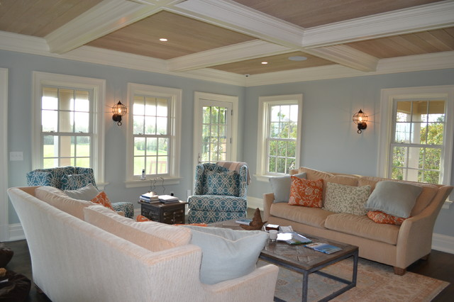 Living Room Furniture Ma surf shack, nantucket ma - beach style - living room - boston -