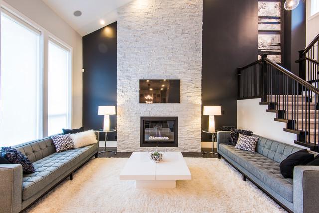 Surrey house contemporary-living-room
