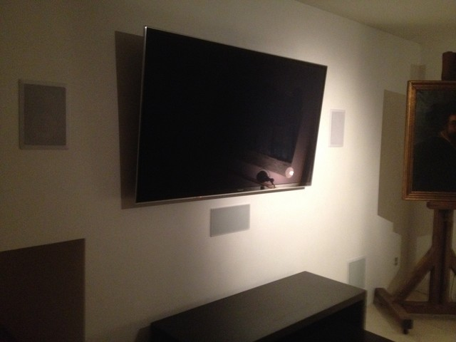 Surround Sound System Modern Living Room Miami By