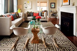 Surya Archive Rug (ACH-1710) - Modern - Living Room - Atlanta - by Surya