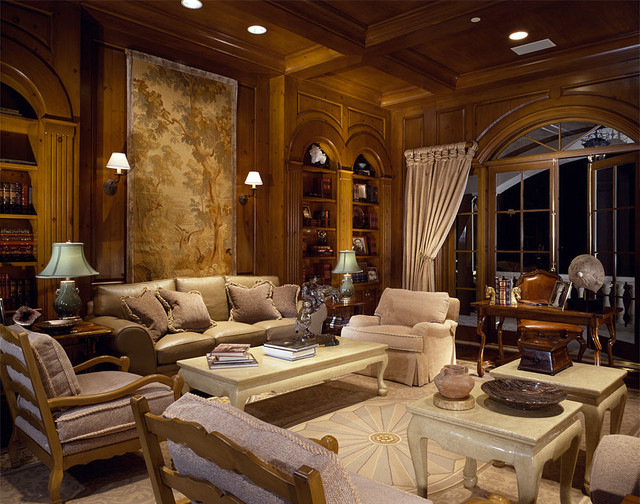 Susan Cohen, ASID traditional-living-room