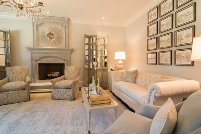 Suwanee GA Home traditional-living-room