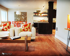 SW 45th modern living room