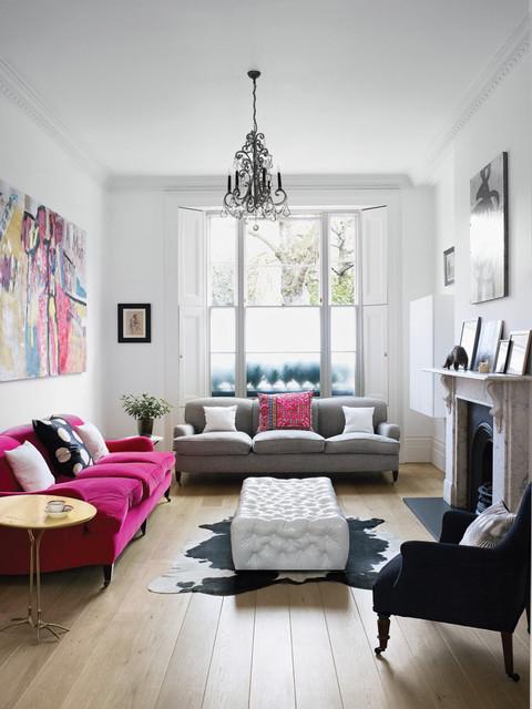 SW7 eclectic-living-room