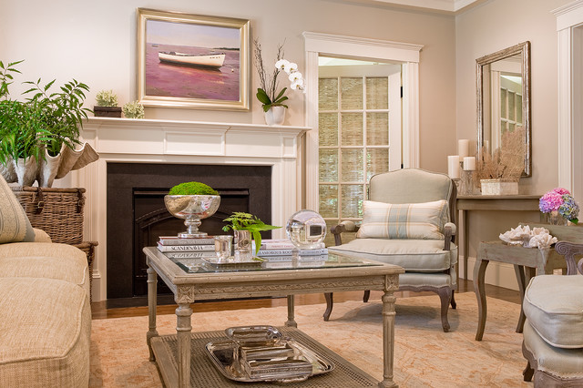 Swampscott Home Traditional Living Room Boston By