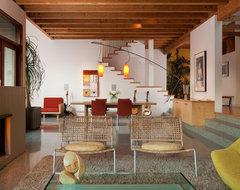 Swatt Residence modern-living-room
