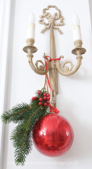 Swedish Christmas Decorations.Swedish Christmas Decoration Traditional Living Room