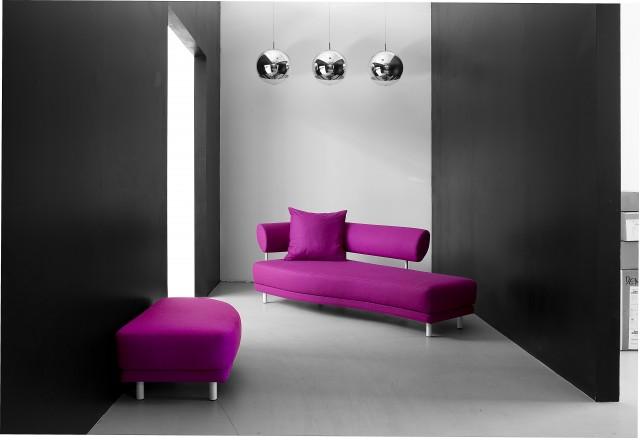 Swing Chaise Lounge / Sofabed by Softline
