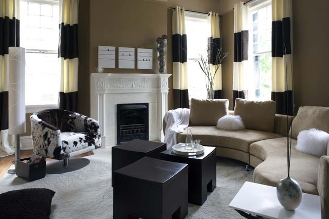 Sylvia Martin contemporary-living-room