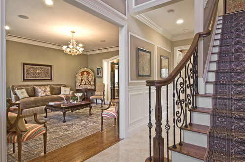 Houzz Open Foyer : I gave a big open foyer with karge wall space and high