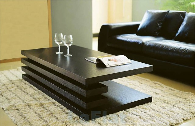 Table modern living room by moshir furniture for Does a living room need a coffee table