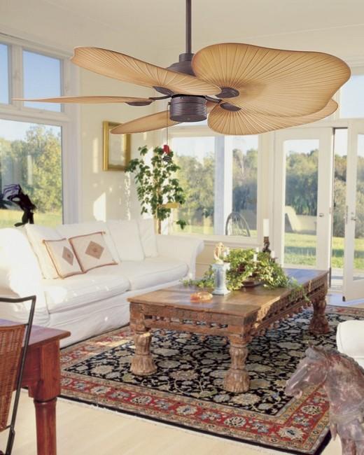 Tropical Indoor Or Outdoor Ceiling Fan