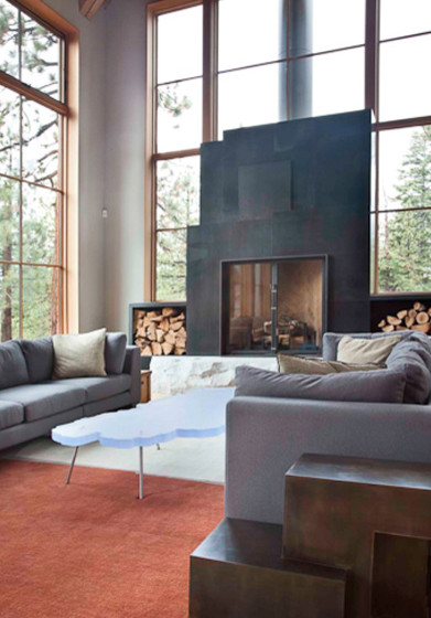 Love this fireplace! Is it steel plate? What is the process?