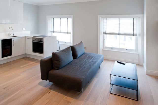 Talbot Road, Notting Hill contemporary-living-room