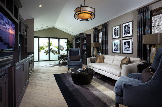 Talis Park Model Home Beach Style Living Room Tampa