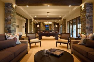 Talon's Crest - Rustic - Living Room - Salt Lake City - by Phillips Development