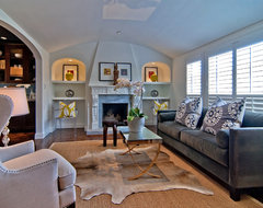 Tamara Mack Design - Staging Projects traditional-living-room