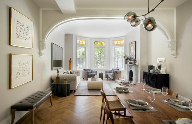 Tanya Capaldo Designs Victorian Living Room Boston