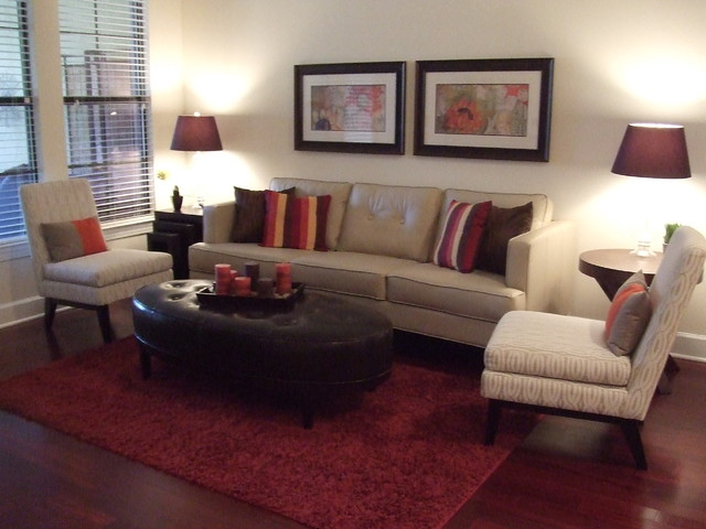 Tapestry Park- Cosmo eclectic-living-room