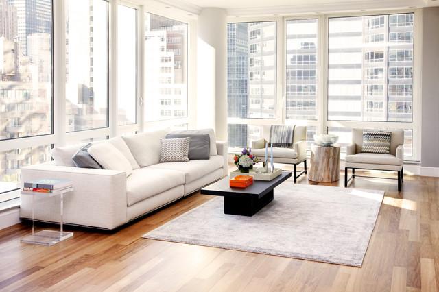 Tara benet design contemporary living room new york for Tara louise interior decoration design