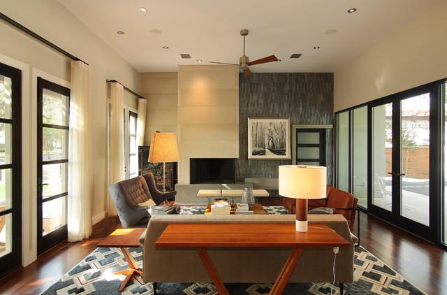 Tarry Town Custom contemporary-living-room