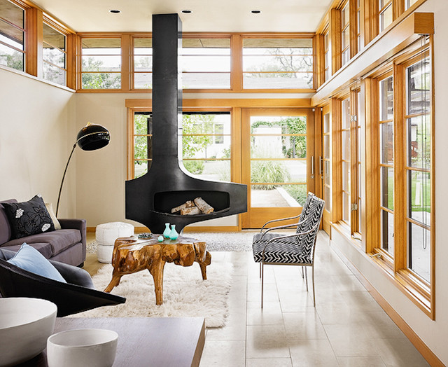 Tarrytown House contemporary-living-room