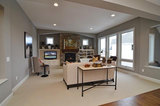 Taylor Creek Model - Spring 2012 living-room