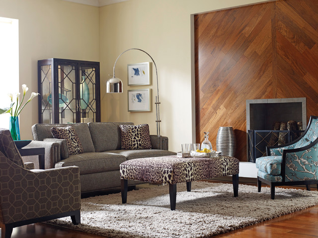 Taylor King Furniture Transitional Living Room Houston By