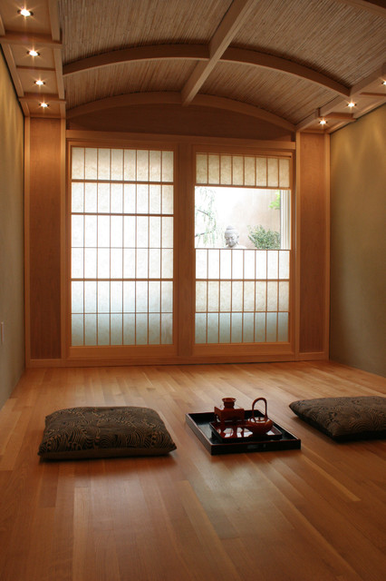 Tea Room Asian Living Room San Francisco By Design A