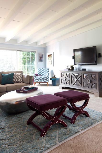 Teal plum living room for Plum living room designs