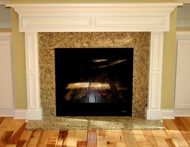 Teel Way Fire Restoration traditional-living-room