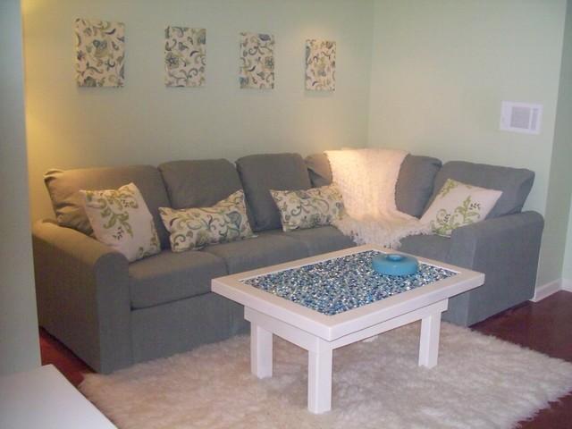 Teenage Living Room Ideas teen media room - traditional - living room - newark -home style