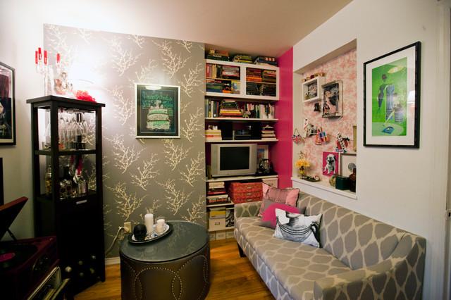 Teeny Tiny Itty Bitty studio apartment eclectic-living-room & Teeny Tiny Itty Bitty studio apartment - Eclectic - Living Room ...