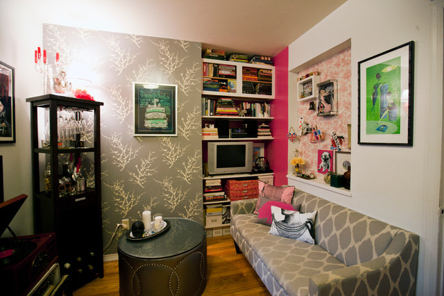 Teeny Tiny Itty Bitty Studio Apartment Eclectic Living