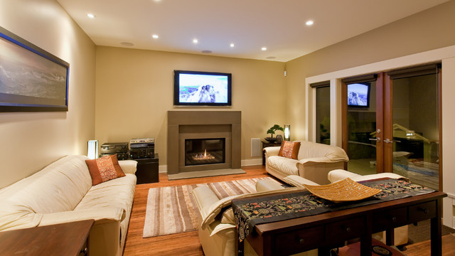 teevan residence - contemporary - living room - vancouver -