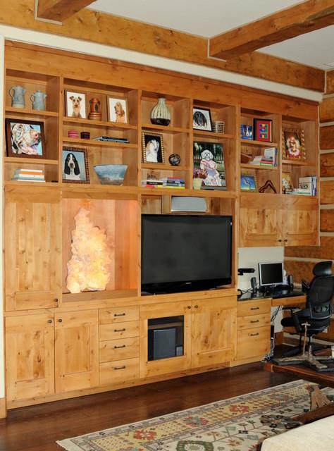 Telluride - Media Cabinet transitional-living-room
