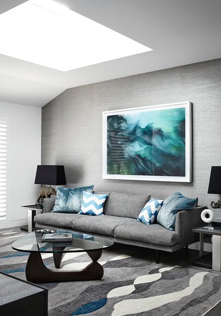 templestowe modern living room melbourne by christopher elliott design
