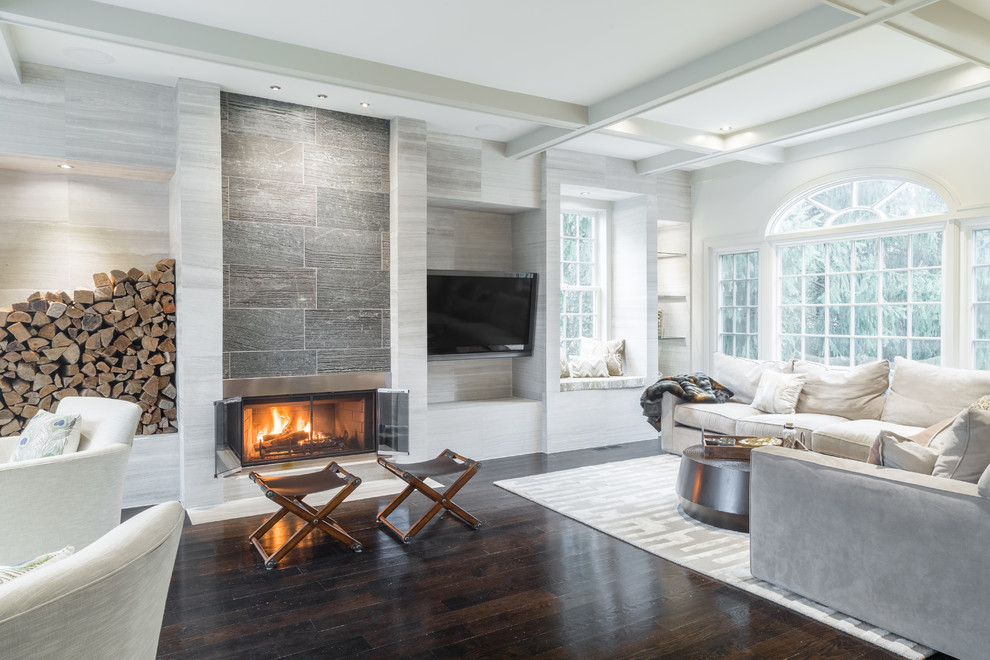 Inspiration for a living room remodel in New York