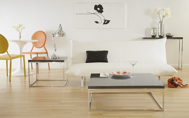 teresa side and square coffee tables contemporary