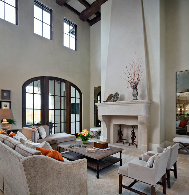 Texas Charm Traditional Living Room Houston By Kevin L Harris Archit