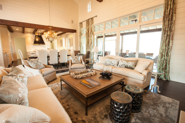texas living room southern living showcase home 11154