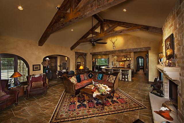 Texas style mediterranean by jim boles custom homes for Texas themed living room