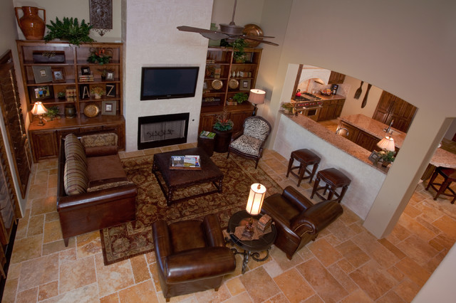 texas tuscan living room