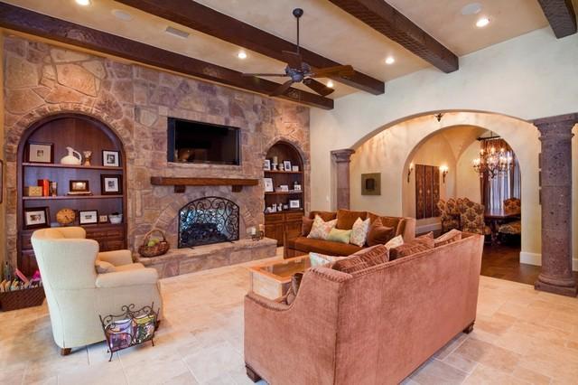 8001 Big View mediterranean-living-room