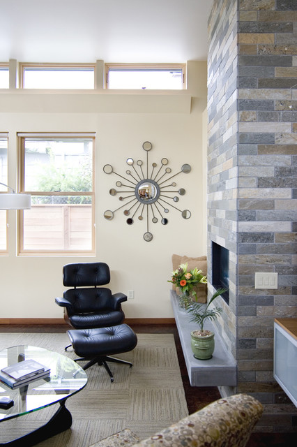 The Abbott Contemporary Living Room Portland By