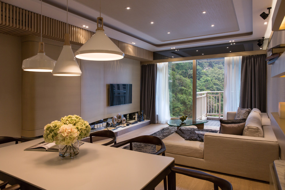 The Altitude - Contemporary - Living Room - Hong Kong - by ...