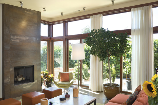The Alumont contemporary-living-room