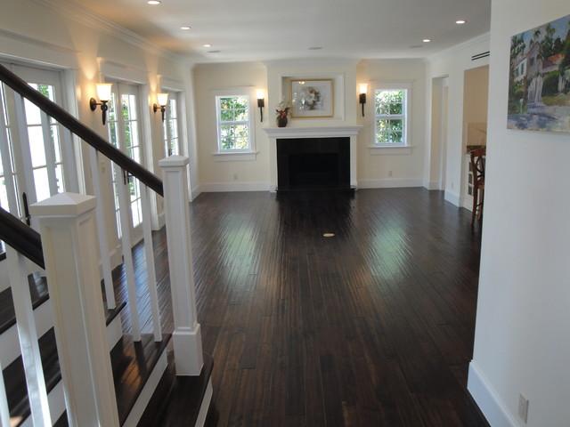 The Atlantic 1945 Historic House Restoration traditional-living-room