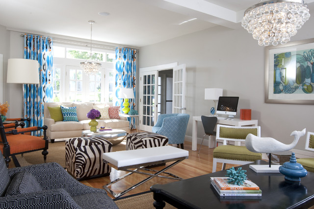 The Attwater eclectic-living-room