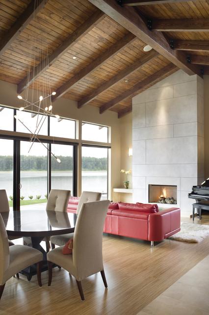 The Aurea contemporary-living-room